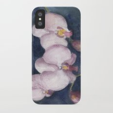 Orchids In the Evening iPhone X Slim Case