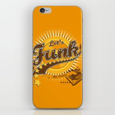 Let's Funk iPhone & iPod Skin