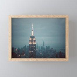 The City That Never Sleeps #1 Framed Mini Art Print