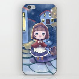 The first snow - Fairytale edition iPhone Skin