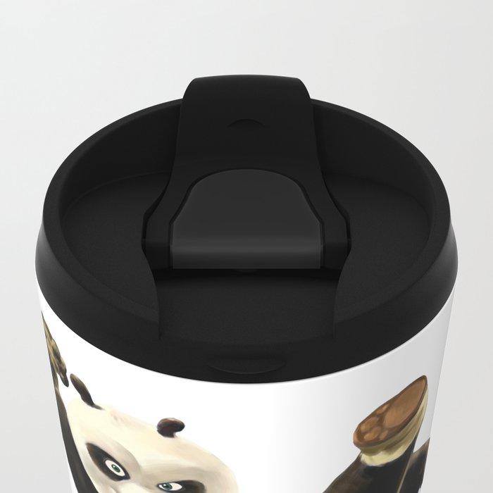 KUNG FU PANDA Metal Travel Mug