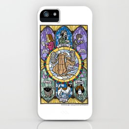 The Adoration of the Squirrel iPhone Case