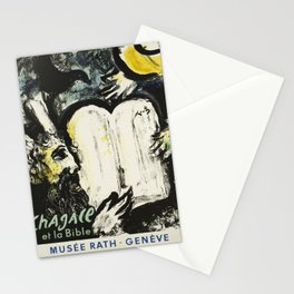 Plakat chagall et la bible musee rath Stationery Cards