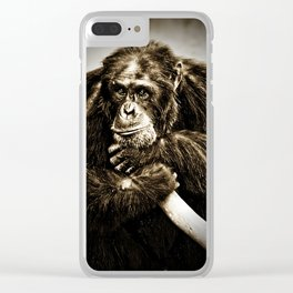 Thought of the Day Clear iPhone Case
