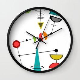 Mid Century Modern  23 Wall Clock