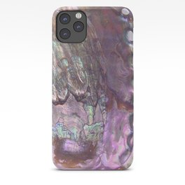 Shimmery Lavender Abalone Mother of Pearl iPhone Case