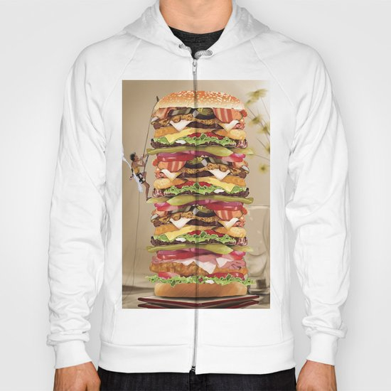 Hamburger Tower Hoody