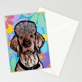 Parti Poodle Stationery Cards
