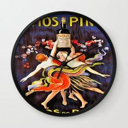 Vintage poster - Ramos Pinto Wall Clock