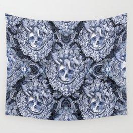 Skullique Wall Tapestry