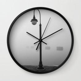 Light pole Wall Clock