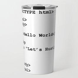 Hello World Travel Mug