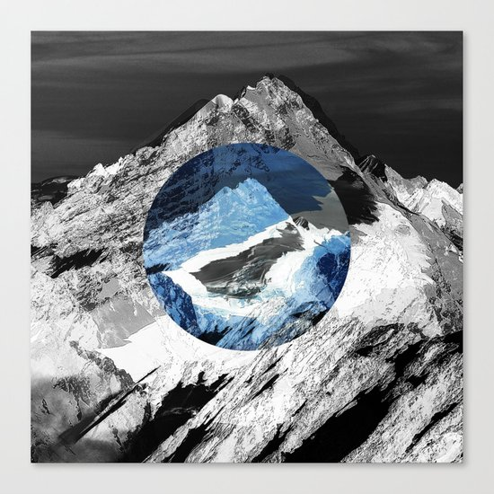 Lost mountain Canvas Print
