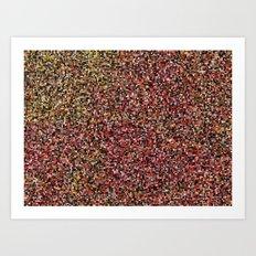 treemap mosaic - cinder Art Print