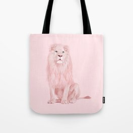 PINK LION Tote Bag