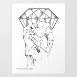 Till Death... Art Print