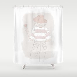 ILLUSTRATION SARA Shower Curtain
