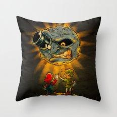 Teamwork v2 Throw Pillow