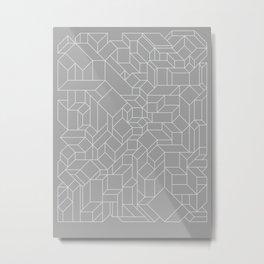 Cubizms Metal Print