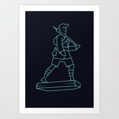 The Gurkhas Art Print