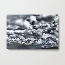 Clarity Under the Clouds Metal Print