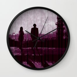 Watching the Refinery Wall Clock