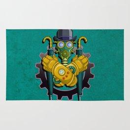 The League of Steam Gentlemen Rug
