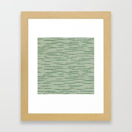 Map Collection: Countryside Framed Art Print