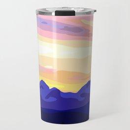 Triglav (2864m) Sunset Travel Mug