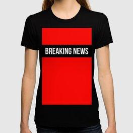 Hear Ye - Breaking News Design T-shirt