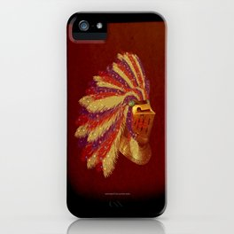 Indian Knight 141WP iPhone Case