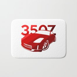 Nissan 350Z - classic red - Bath Mat