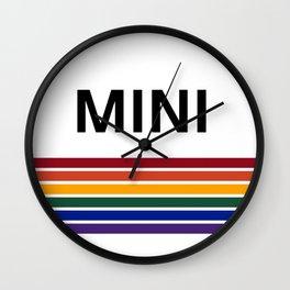 MINI 'Rainbow' Collection Wall Clock