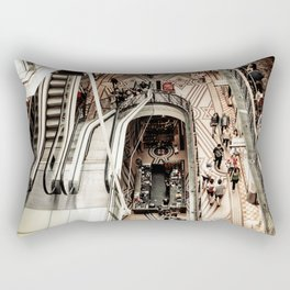 Urban Industrial Architectural Designs Elegant Art Photo Rectangular Pillow