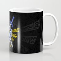 the legend of zelda Mugs featuring Heroes Legend - Zelda by Art & Be