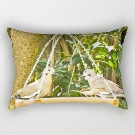 Dove Dining Rectangular Pillow