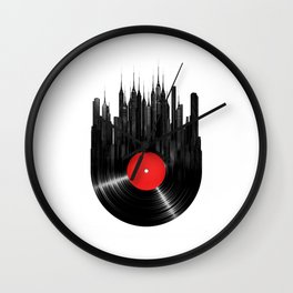 Urban Vinyl Wall Clock