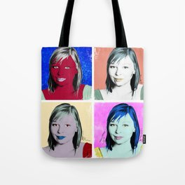 In the Style of... Andy Warhol, 2010 Tote Bag