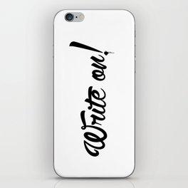 Write On! iPhone Skin