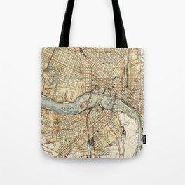 Vintage Map of Richmond Virginia (1934) Tote Bag