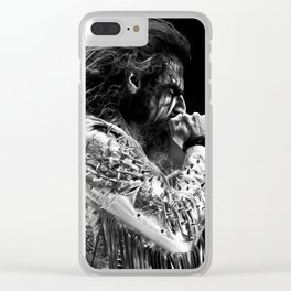 Rob Zombie Clear iPhone Case