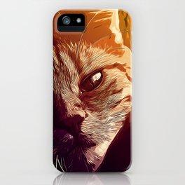 set your cat free vector art iPhone Case