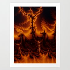 Hellbent Art Print