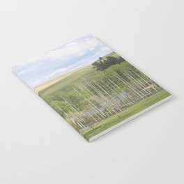 Lake and trees landscape Notebook