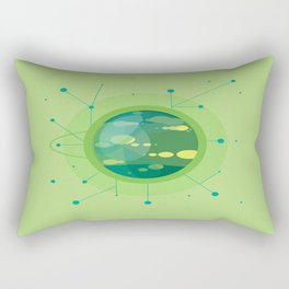 Planet G - Trappist System Rectangular Pillow