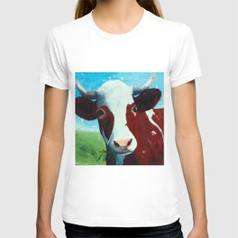 Animal - Daisy the Cow - by LiliFlore T-shirt
