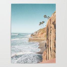 South Carlsbad Beach Scene Poster