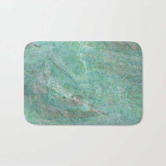 Alfetta verde - turquoise stone Bath Mat