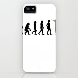 Evolution Of Bagpipe iPhone Case