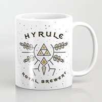 hyrule Mugs featuring Hyrule Royal Brewery by Tugrul Peker
